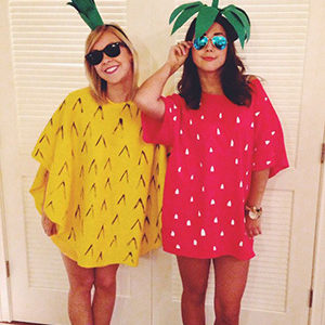 pineapplestrawberrycostume